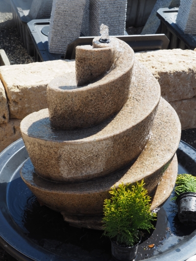Wasserspiele Bäumler Natursteine