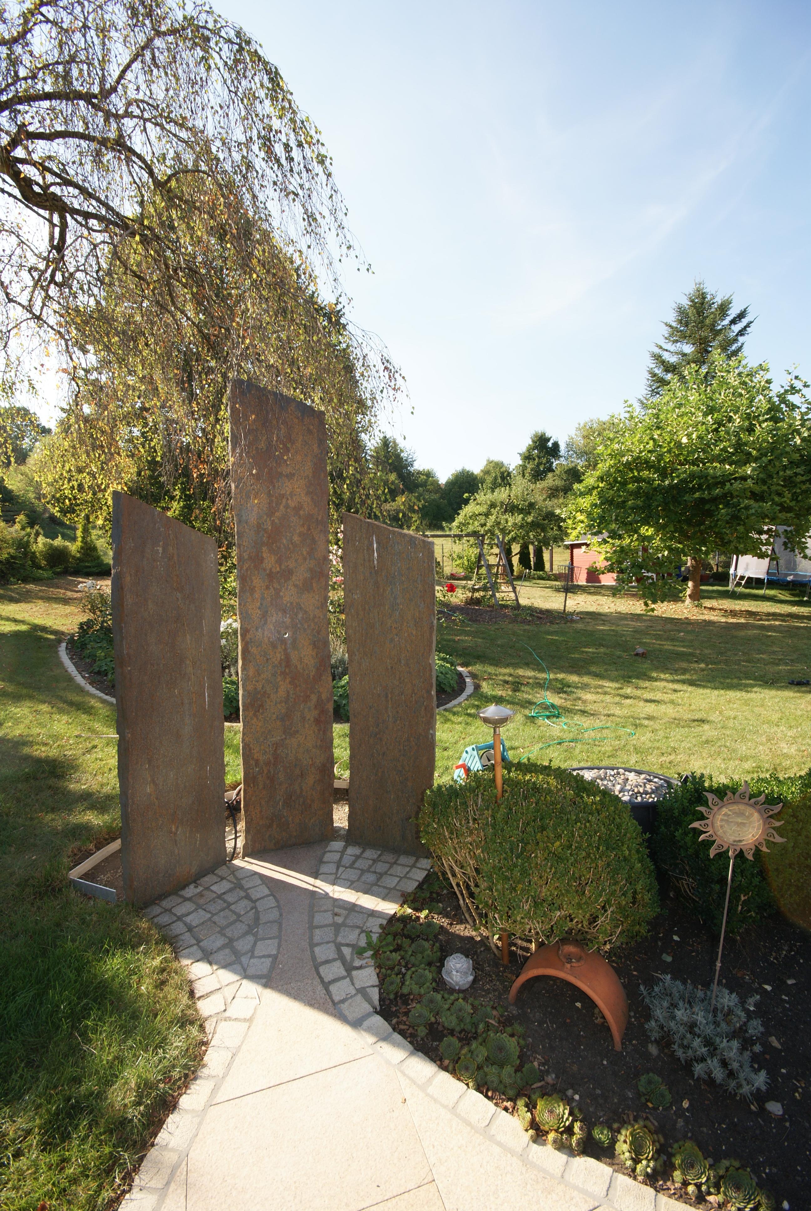 Sichtschutz Im Garten Baumler Natursteine In 73340 Amstetten