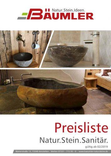 thumbnail of Natur.Stein.Sanitär_Preisliste_Bäumler_2019_Website